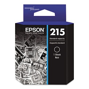 Epson T215120 (215) DURABrite Ultra Ink, Black
