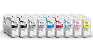 Epson UltraChrome HD Ink Light Black 80ml for SureColor P800