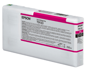 Epson T913300 200ml Vivid Magenta ink cartridge for the Epson P5000