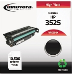 Innovera Remanufactured CE250X (504X) Laser Toner, 10500 Yield, Black