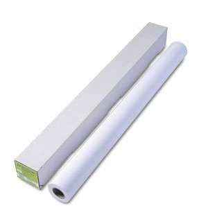 "HP Designjet Universal Heavyweight Paper, 6.1 mil, 42"" x 100 ft, White"