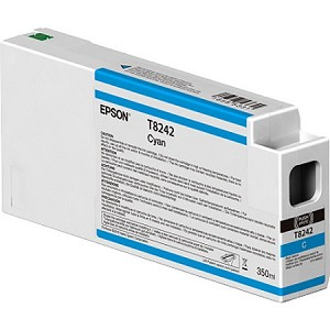 Epson Cyan 350ML Ink Cartridges for the Epson SureColor P6000/7000/8000/9000 Standard and Commercial printers
