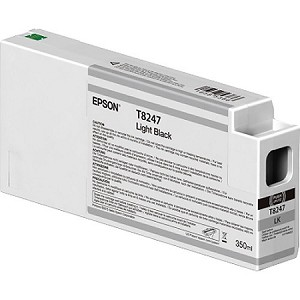 Epson Light Black 350ML Ink Cartridges for the Epson SureColor P6000/7000/8000/9000 Standard and Commercial printers