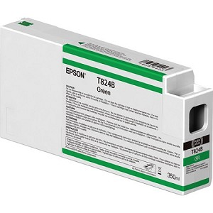 Epson Green 350ML Ink Cartridges for the Epson SureColor P6000/7000/8000/9000 Standard and Commercial printers
