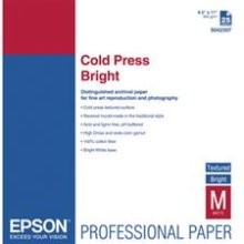 "EPSON Cold Press Bright 17"" x 22"" (25 Sheets)"