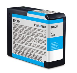 Epson Cyan Ink Cartridges for the Epson Stylus Pro 3800 / 3880