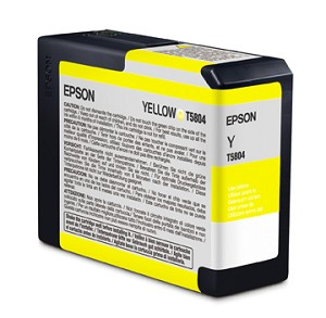 Epson Yellow Ink Cartridges for the Epson Stylus Pro 3800 / 3880