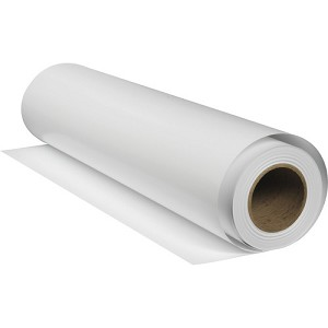"Epson Legacy Fibre Paper Roll, Smooth Matte, 17"" x 50ft, 19mil, 93 Bright"