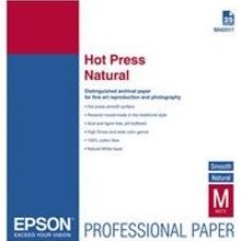 "EPSON Hot Press Natural 17"" x 22"" (25 Sheets)"