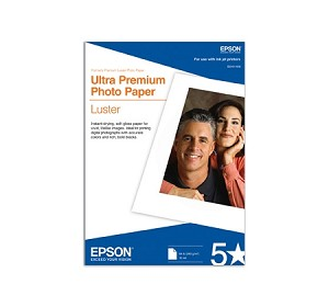 "Epson Ultra Premium Luster Photo Paper 8.5"" x 11"" (250 Sheets)"