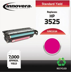 Innovera Remanufactured CE253A (504A) Laser Toner, 7000 Yield, Magenta