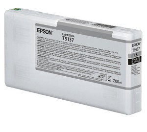Epson T913700 200ml Light Black ink cartridge for the Epson P5000