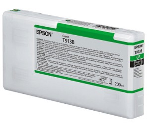 Epson T913B00 200ml Green ink cartridge for the Epson P5000